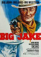 Big Jake - German Movie Poster (xs thumbnail)