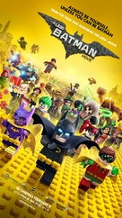 The Lego Batman Movie - Lebanese Movie Poster (xs thumbnail)