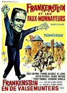 Munster, Go Home - Belgian Movie Poster (xs thumbnail)