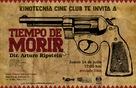 Tiempo de morir - Mexican Movie Poster (xs thumbnail)