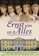 The Importance of Being Earnest - German Movie Poster (xs thumbnail)