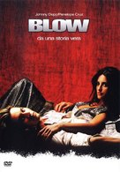 Blow - Italian DVD cover (xs thumbnail)