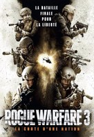 Rogue Warfare: Death of a Nation - French DVD movie cover (xs thumbnail)