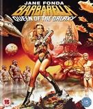 Barbarella - British Blu-Ray movie cover (xs thumbnail)