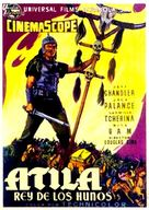 Sign of the Pagan - Spanish Movie Poster (xs thumbnail)
