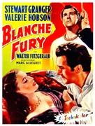Blanche Fury - Belgian Movie Poster (xs thumbnail)