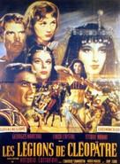 Le legioni di Cleopatra - French Movie Poster (xs thumbnail)