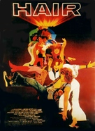 Hair - German Theatrical movie poster (xs thumbnail)