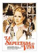 Sepolta viva - Spanish Movie Poster (xs thumbnail)