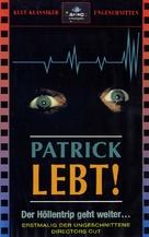 Patrick vive ancora - German VHS cover (xs thumbnail)