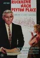 Return to Peyton Place - German Movie Poster (xs thumbnail)