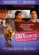 Outsourced - German Movie Poster (xs thumbnail)