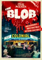 The Blob - Swedish Re-release movie poster (xs thumbnail)