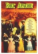 Fort Apache - Spanish Movie Poster (xs thumbnail)