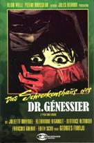 Les yeux sans visage - German DVD cover (xs thumbnail)