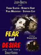 Fear and Desire - DVD cover (xs thumbnail)