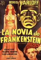 Bride of Frankenstein - Spanish Theatrical poster (xs thumbnail)