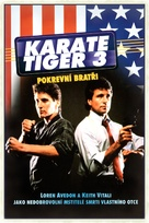 No Retreat, No Surrender 3: Blood Brothers - Czech DVD cover (xs thumbnail)