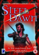 Steel Dawn - British DVD movie cover (xs thumbnail)