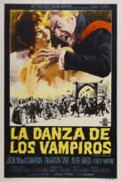 Dance of the Vampires - Argentinian Movie Poster (xs thumbnail)