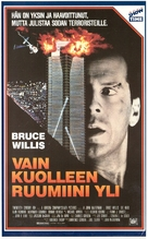 Die Hard - Finnish VHS movie cover (xs thumbnail)