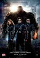 Fantastic Four - Spanish Movie Poster (xs thumbnail)