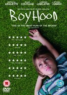Boyhood - British DVD movie cover (xs thumbnail)