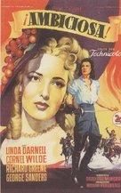 Forever Amber - Spanish Movie Poster (xs thumbnail)
