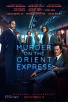 Murder on the Orient Express - Indian Movie Poster (xs thumbnail)