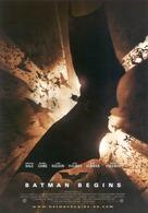 Batman Begins - Spanish Movie Poster (xs thumbnail)