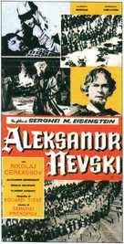 Aleksandr Nevskiy - Italian VHS cover (xs thumbnail)