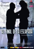 Al final de la escapada - Spanish Movie Poster (xs thumbnail)