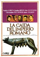 The Fall of the Roman Empire - Spanish Movie Poster (xs thumbnail)