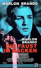 On the Waterfront - German VHS movie cover (xs thumbnail)