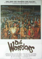 The Warriors - German Movie Poster (xs thumbnail)
