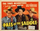 Pals of the Saddle - Movie Poster (xs thumbnail)