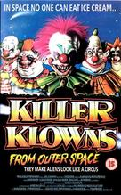 Killer Klowns from Outer Space - British VHS cover (xs thumbnail)