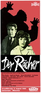 Rächer, Der - German Movie Poster (xs thumbnail)