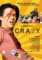 C.R.A.Z.Y. - Turkish Movie Poster (xs thumbnail)