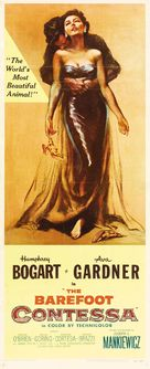 The Barefoot Contessa - Theatrical poster (xs thumbnail)