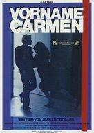 Prénom Carmen - German Movie Poster (xs thumbnail)