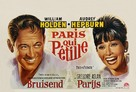 Paris - When It Sizzles - Belgian Movie Poster (xs thumbnail)