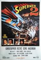 Superman II - Turkish Movie Poster (xs thumbnail)