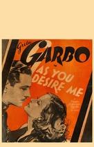 As You Desire Me - Movie Poster (xs thumbnail)