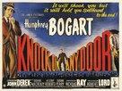 Knock on Any Door - British Movie Poster (xs thumbnail)