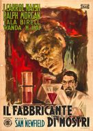 The Monster Maker - Italian Movie Poster (xs thumbnail)