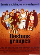 Restons groupés - French Movie Poster (xs thumbnail)