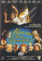 Alice in Wonderland - Spanish DVD cover (xs thumbnail)