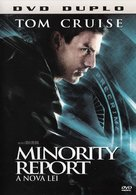 Minority Report - Brazilian Movie Cover (xs thumbnail)