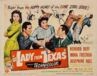 The Lady from Texas - Movie Poster (xs thumbnail)
